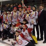 Юные спортсмены Днепра заняли I место на Чемпионате Украины по хоккею с шайбой