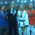 Днепровские дзюдоисты завоевали бронзу на международных соревнованиях