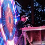 Культовый украинский Dj Tapolsky заряжал энергичным Drum&Bass на фесте АТОшных песен