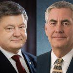 Тіллерсон вимагає у Порошенка дострокових виборів до Верховної Ради