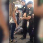 Полицейский беспредел: В Киеве сотрудники полиции жестоко избили женщину при задержании