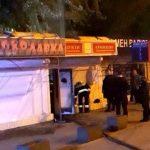 В Днепре ночью выгорел магазин полуфабрикатов, — ФОТО