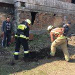 Минутка добра: в Днепре спасатели вытащили щенка из ямы, — ФОТО