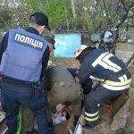 В Днепропетровской области в канализационном люке нашли женщину, — ФОТО