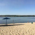 Официальные пляжи Днепра: в каком состоянии место для отдыха в Приднепровске, — ФОТО