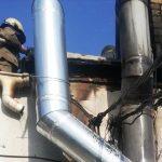 Пожар под Днепром: в центре города горело кафе, — ФОТО