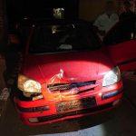 Врезался в дорожный знак и скрылся с места ДТП: полиция задержала пьяного водителя, — ФОТО