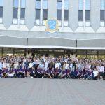 В честь возвращения освобожденных украинцев в Днепре провели флешмоб, — ФОТО