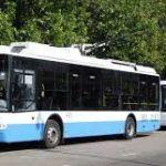 Днепряне требуют увеличить количество троллейбусов