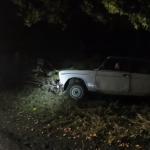 На Днепропетровщине автомобиль слетел в кювет, — ВИДЕО