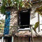 В Днепре пожар в частном доме унес жизнь женщины, — ФОТО