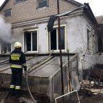 В Днепровском районе на пожаре пострадал мужчина, — ФОТО