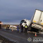 В первый снегопад в Днепропетровской области произошло 17 ДТП с учетом грузовых автомобилей, -ФОТО
