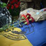 На Днепропетровщине похоронили бойца, который погиб в плену у боевиков, — ФОТО, ВИДЕО