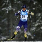 У чоловічій естафеті в Обергофі українські біатлоністи фінішували десятими