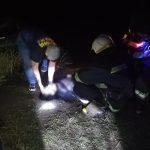 Под Днепром женщина спрыгнула с моста в воду: ее тело доставали спасатели, — ФОТО