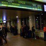 «Укрзалізниця»: в Києві через дзвінок про мінування обмежена робота залізничного вокзалу