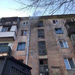 На Днепропетровщине горела квартира, есть пострадавшие, — ФОТО