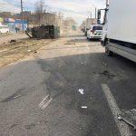 В Днепре произошла авария с участием 5-ти авто: пятеро людей пострадали, — ФОТО