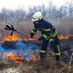 16 пожаров за сутки: спасатели просят жителей Днепропетровщины не сжигать траву, — ФОТО