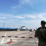Українські прикордонники посилюють патруль на морі і в повітрі біля адмінкордону з окупованим Кримом