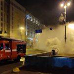 Через пожежу у підземному колекторі на Хрещатику знеструмлено близько 80 будинків