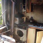 В Каменском на Гайдамацкой горела квартира