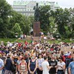 Фоторепортаж: «200 днів брехні». Акція на підтримку Антоненка, Кузьменко і Дугарь