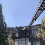 Пожежа в Новій Каховці: голова ХОДА заявляє, що жителів відселять