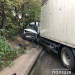 В Днепре грузовик въехал в маршрутку: пострадали 10 человек, — ФОТО