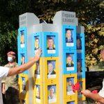 У Запоріжжі вшанували пам'ять загиблих на Донбасі українських бійців