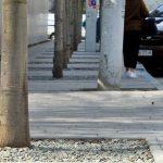 В Днепре установили опасные антипарковочные столбики на велодорожке, — ФОТО