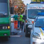 В центре Днепра автобус сбил насмерть женщину-пешехода, — ФОТО, ВИДЕО МОМЕНТА