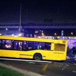 У Києві автобус виїхав на пішохідну зону, загинула людина