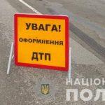 Через зіткнення вантажівок під Києвом ускладнено рух в напрямку Чернігова