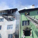 Вибух і пожежа в 5-поверховому будинку під Києвом, у ДСНС повідомили про 2 шпиталізованих