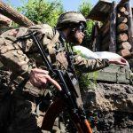 Минулої доби бойовики 22 рази порушили режим тиші на Донбасі – штаб ООС