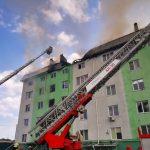 Вибух у будинку під Києвом: пожежу локалізували, рятувальники виявили тіло загиблого