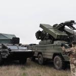Біля адмінкордону з окупованим Кримом пройшли масштабні навчання ЗСУ