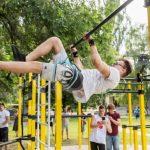 Основатель Workout Academy Денис Минин с командой создали спортплощадку в Самаровке