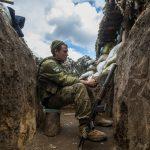 На Донбасі зазнав осколкових поранень український військовий – штаб ООС