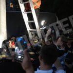 Во время избиения протестантов за незаконный демонтаж билбордов в Днере пострадали журналисты