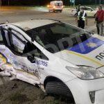 В Кривом Роге в тройном ДТП травмировались 2 полицейских и водитель MAZDA