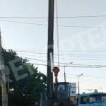 Во время незаконных действий коммунальщиков по демонтажу биллбордов были повреждены провода энергосистем