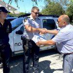 Полицейские Богдановской громады на Днепропетровщине получили дрон для воздушного мониторинга территории