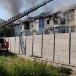 В Запорожской области горел котеджный комплекс. Полиция устанавливает причины