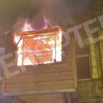В Днепре семья пострадала на пожаре
