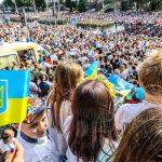День Незалежності: військовий парад та Марш захисників у Києві (фоторепортаж)