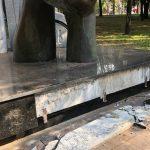 Поліція Кривого Рогу відкрила справу через пошкодження пам'ятників чорнобильцям і українським військовим