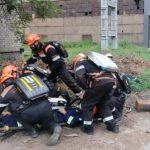 На газопроводе «АрселорМиттал Кривой Рог» возник пожар